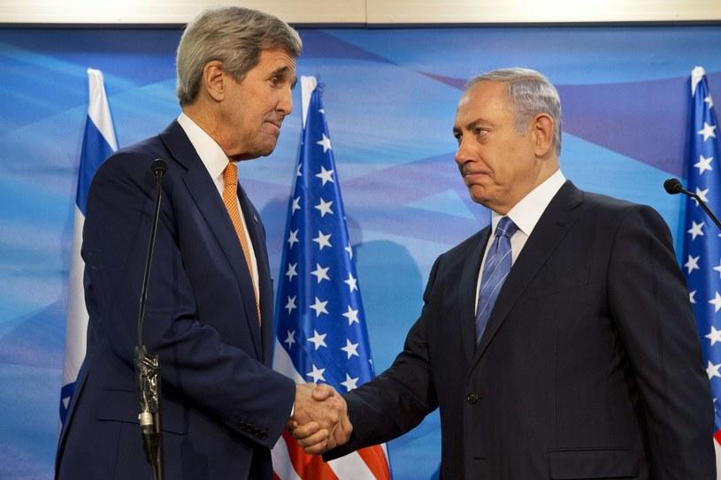 John Kerry i Benjamin Netanjahu /AFP