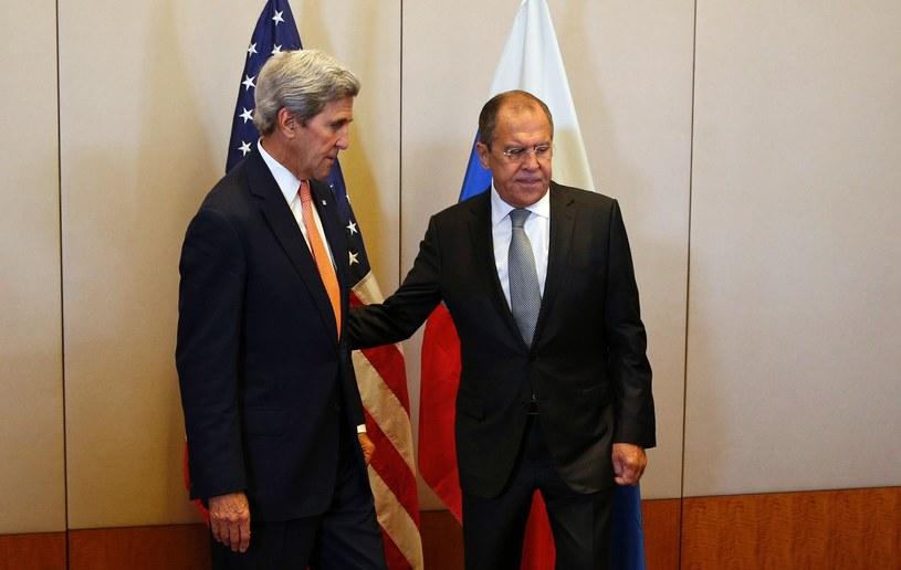 John Kerry i Siergiej Ławrow /AFP