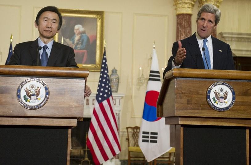 John Kerry i Yun Byung Se /AFP