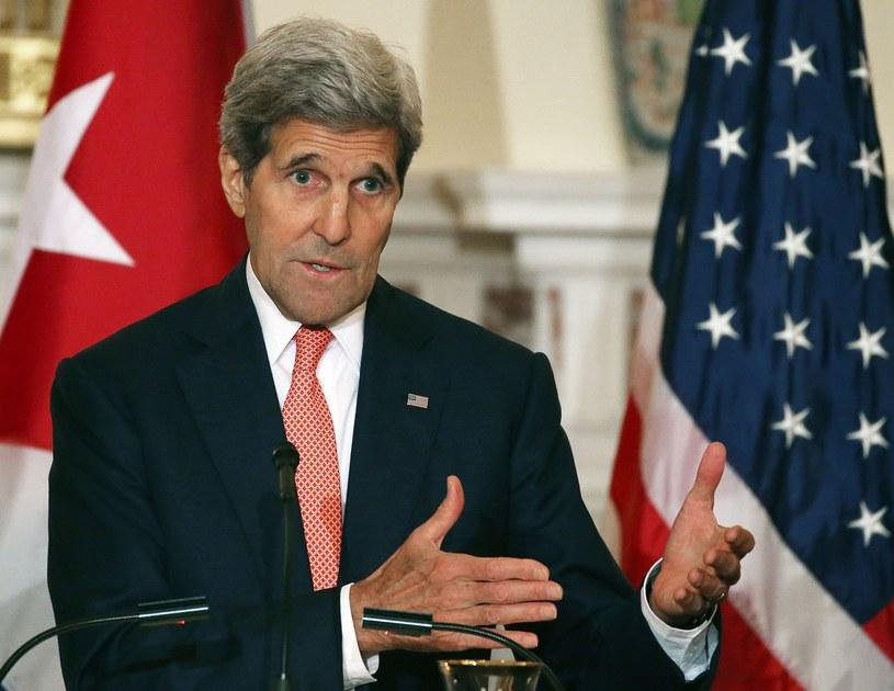 John Kerry - Sekretarz Stanu USA /AFP