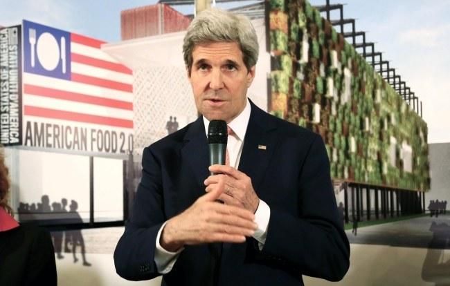 John Kerry /PAP/EPA/FABIO CAMPANA /PAP/EPA
