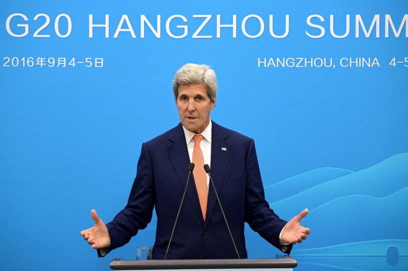 John Kerry /PAP/EPA