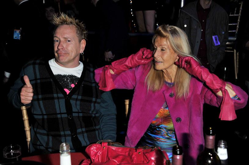 John Lydon i Nora Foster /Jon Furniss /Getty Images