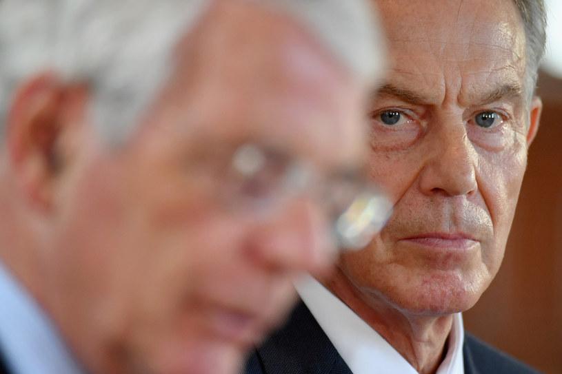 John Major i Tony Blair /AFP