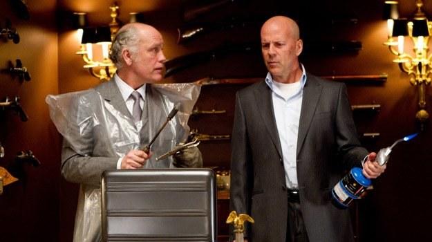 "John Malkovich i Bruce Willis w filmie ""Red"" /materiały dystrybutora"