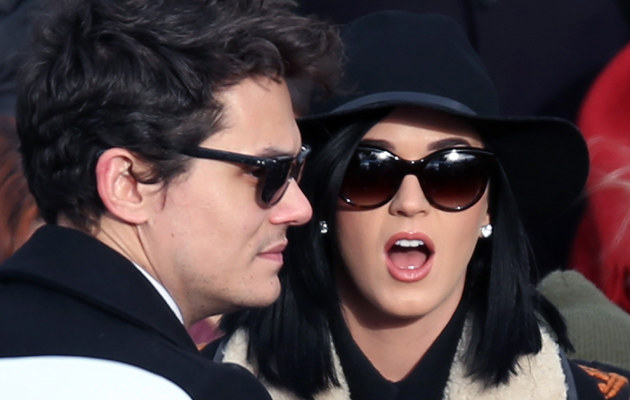 John Mayer i Katy Perry /Wong /Getty Images