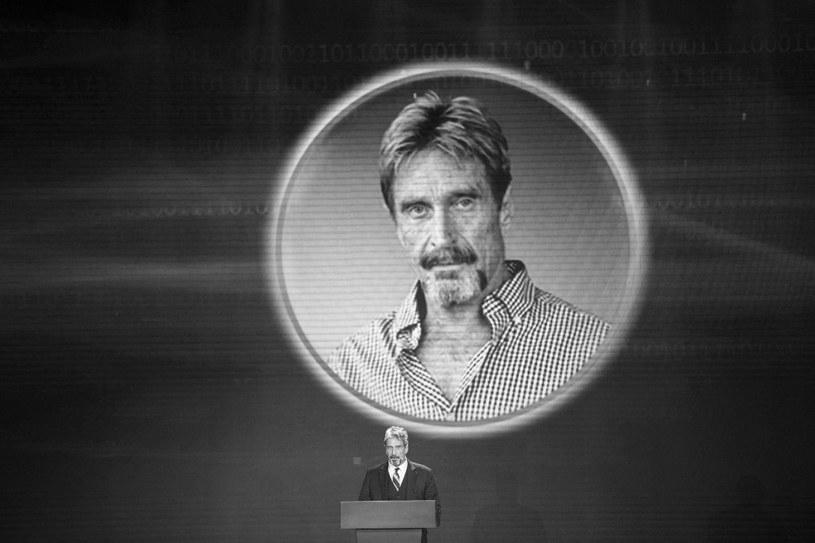 John McAfee miał 75 lat, był legendą branży internetowego bezpieczeństwa /AFP