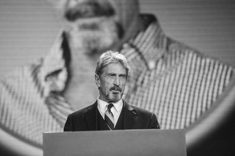 John McAffe - zdjęcie wykonane w 2016 roku /AFP