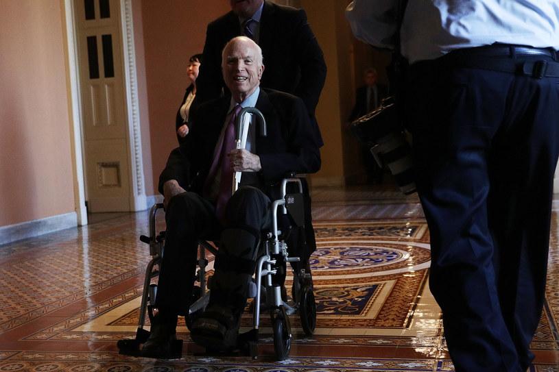 John McCain na Kapitolu /AFP