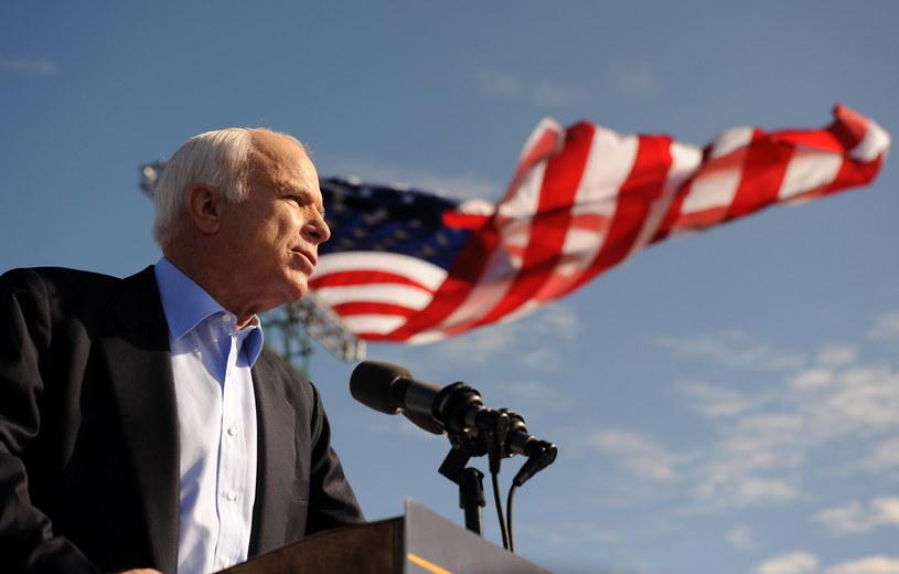 John McCain na zdjęciu z 2008 roku /AFP