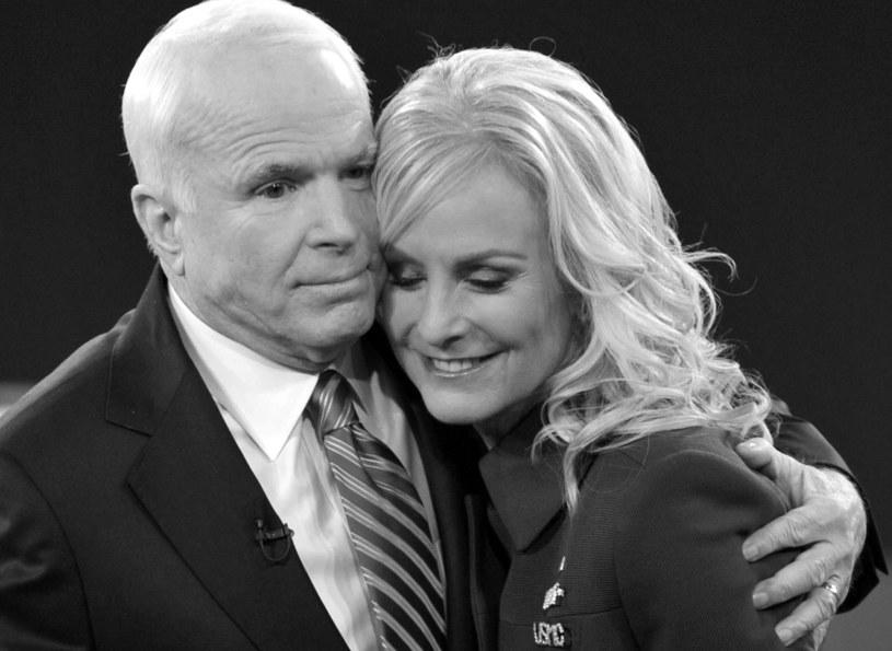 John McCain z żoną Cindy, 2008 /AFP