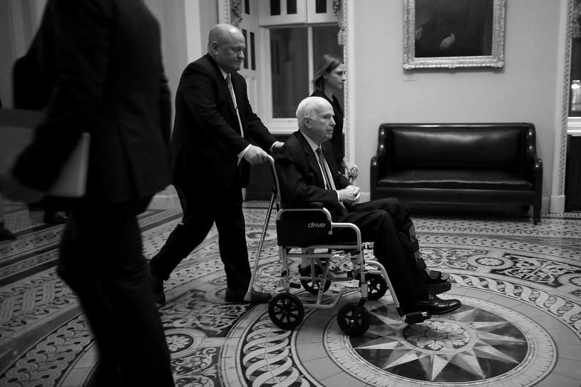 John McCain zmarł w wieku 81 lat /AFP