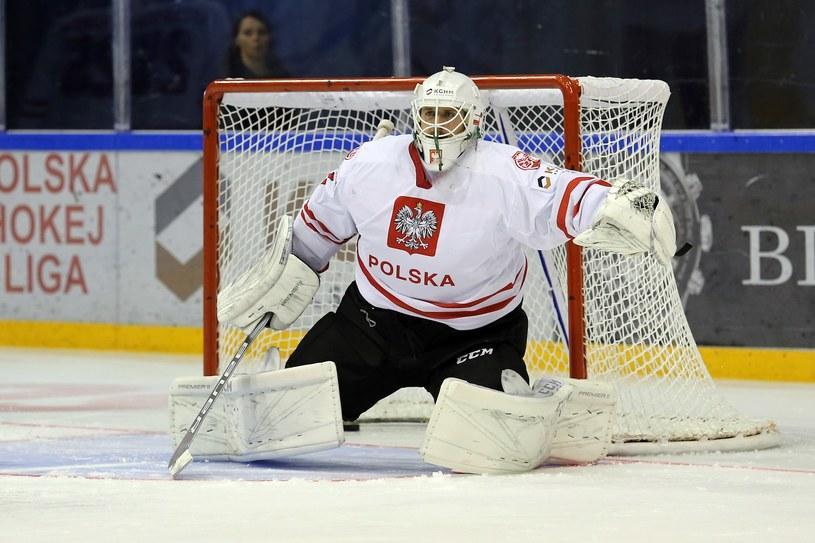 John Murray w bramce reprezentacji Polski /Tadeusz Skwiot /Newspix
