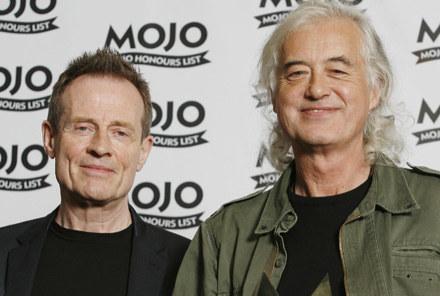 "John Paul Jones i Jimmy Page: ""Robert Plant? Nie znamy..."" fot. Gareth Davies /Getty Images/Flash Press Media"