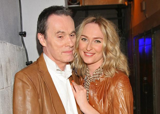 John Porter i Anita Lipnicka byli parą od 2003 roku / Stach Leszczyński    /PAP