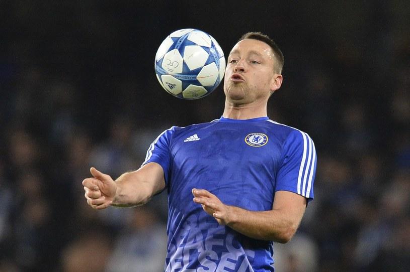 John Terry jeszcze w barwach Chelsea Londyn /AFP
