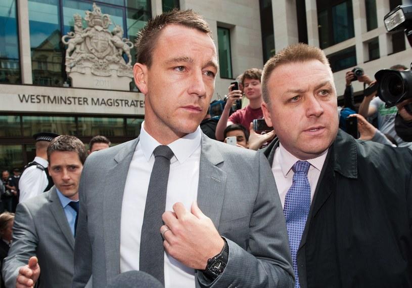 John Terry opuszcza londyński sąd. /. /AFP