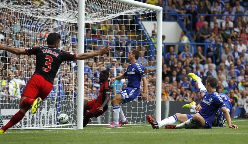 John Terry strzelił gola samobójczego /AFP