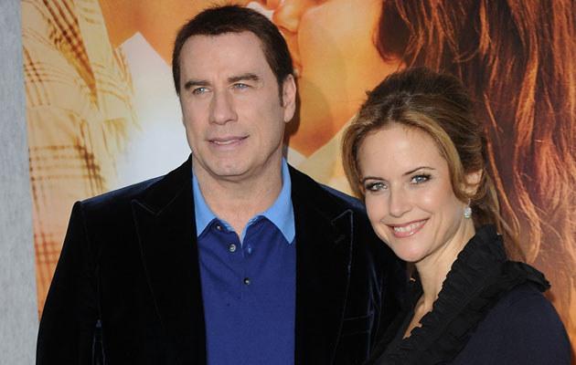 John Travolta i Kelly Preston, fot. Jason Merritt  /Getty Images/Flash Press Media
