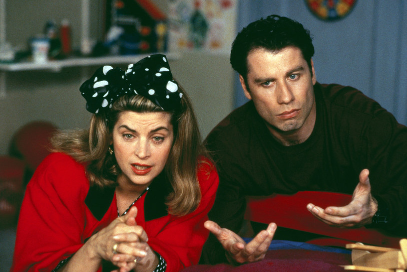 "John Travolta i Kirstie Alley i ""I kto to mówi 3"" /AKPA"