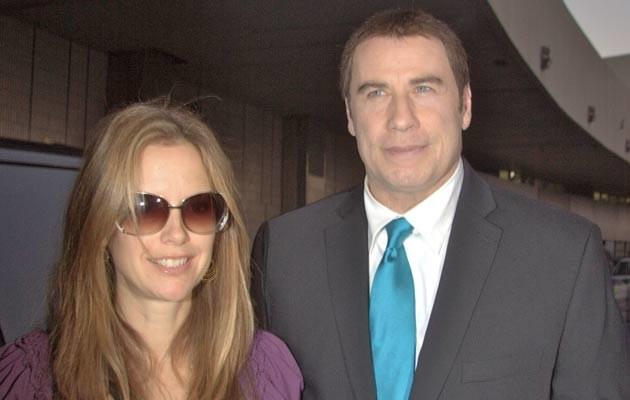 John Travolta z żoną  /Splashnews