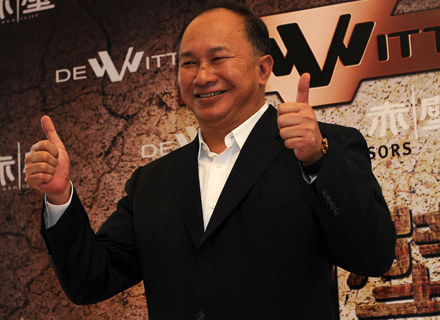 John Woo, fot. Gareth Cattermole /Getty Images/Flash Press Media