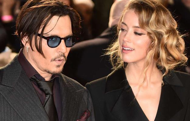 Johnny Deep i Amber Heard /AFP