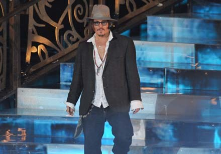 Johnny Depp: Bardziej Sancho Pansa, niż Pancho Villa - fot. Kevin Winter /Getty Images/Flash Press Media