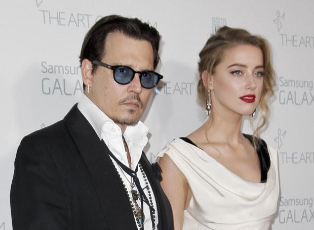 Johnny Depp i Amber Heard - para czy małżeństwo? /Getty Images