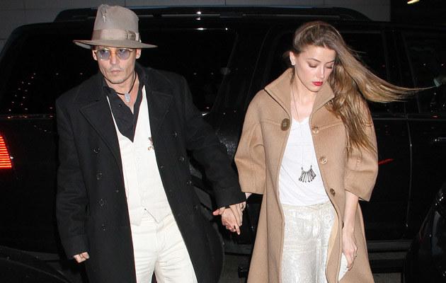 Johnny Depp i Amber Heard przechodzą kryzys? /Laura Cavanaugh /Getty Images