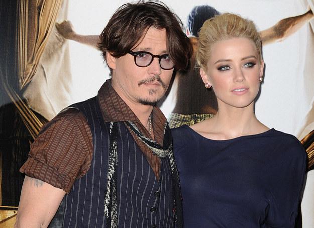 Johnny Depp i Amber Heard /Getty Images
