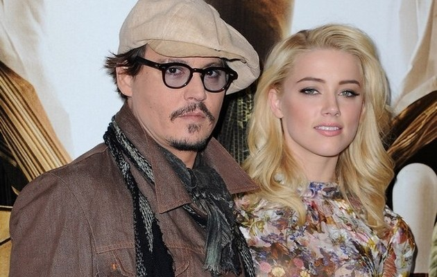 Johnny depp i Amber Heard /- /Getty Images