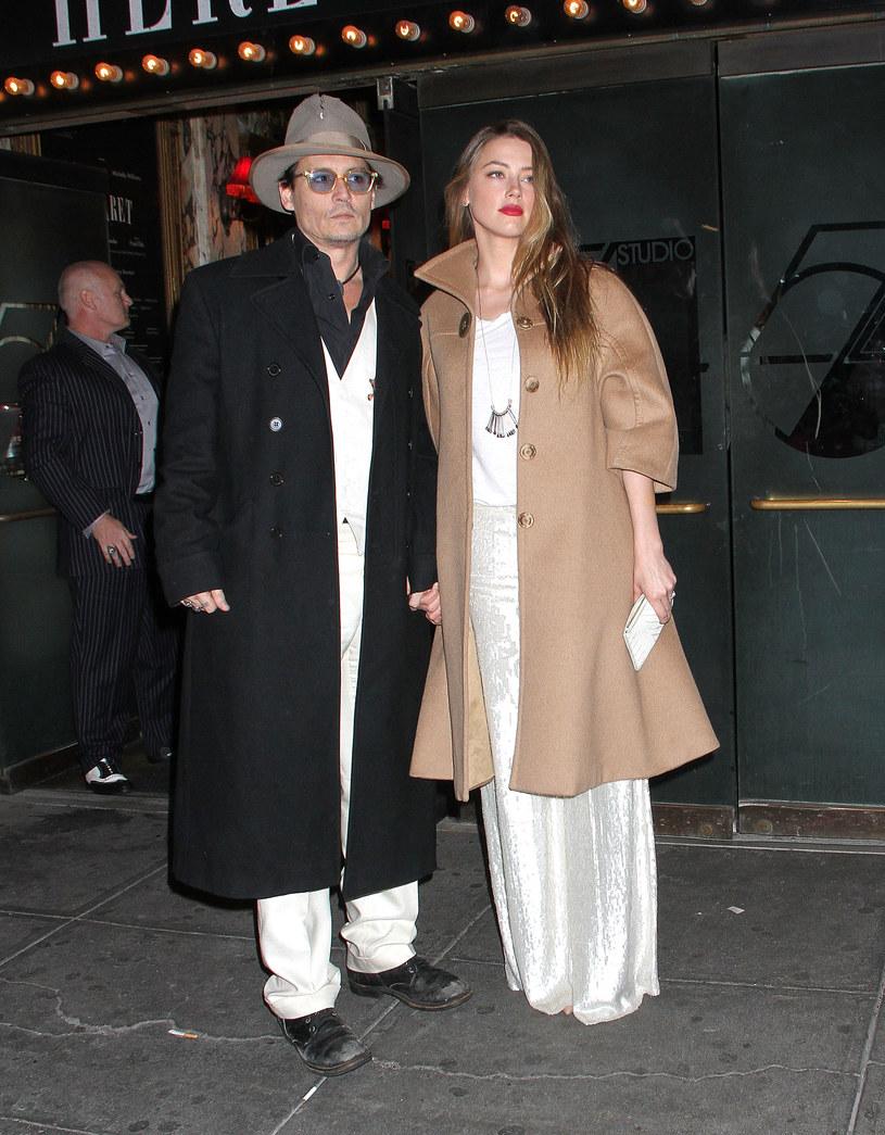 Johnny Depp i Amber Heard /Laura Cavanaugh /Getty Images