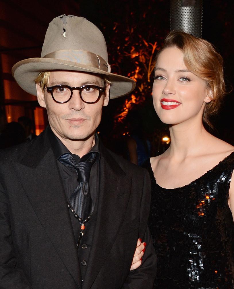 Johnny Depp i Amber Heard /Jason Merritt /Getty Images