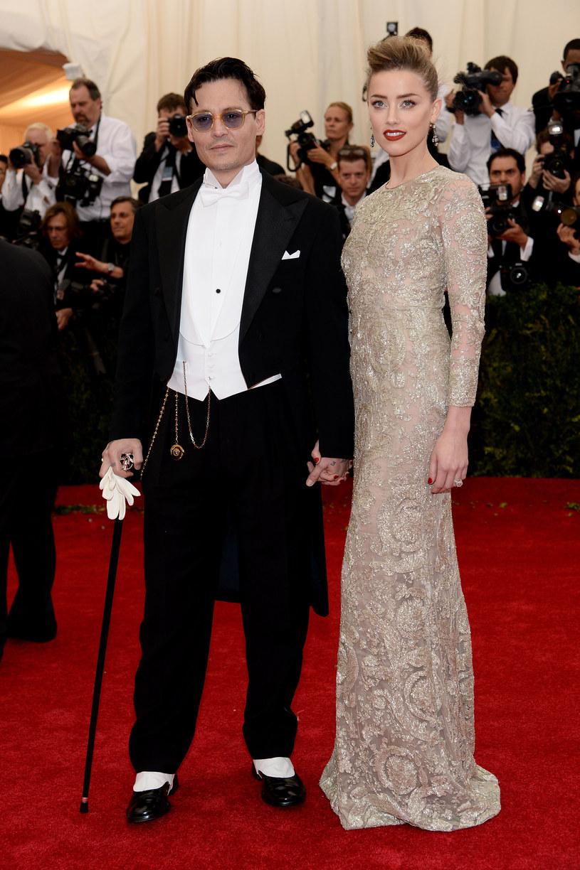 Johnny Depp i Amber Heard /Dimitrios Kambouris /Getty Images