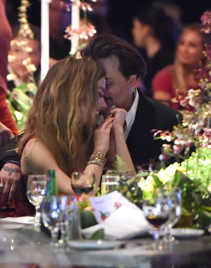 Johnny Depp i Amber Heard /Getty Images