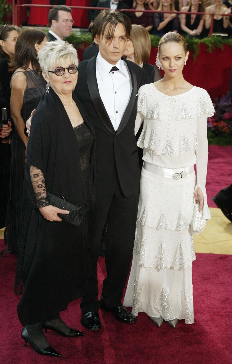 Johnny Depp i Vanessa Paradis rozstali się przez Betty Sue Palmer /Frazer Harrison /Getty Images