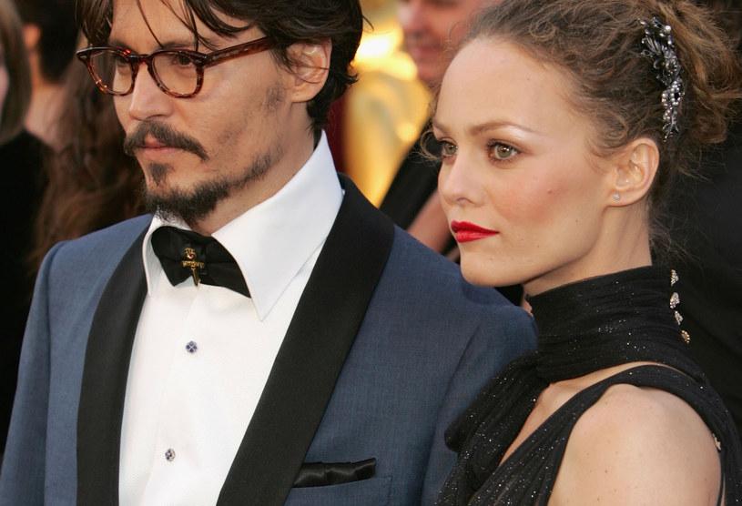 Johnny Depp i Vanessa Paradis /Frank Micelotta /Getty Images