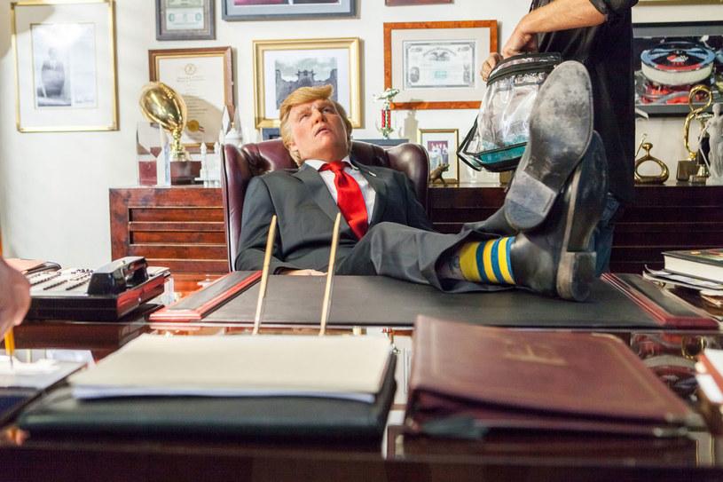 Johnny Depp jako Donald Trump /materiały prasowe