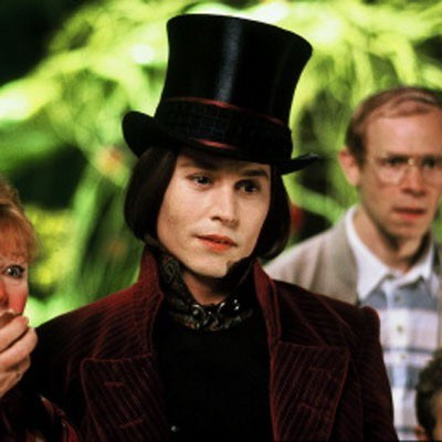 Johnny Depp jako Willy Wonka /AFP