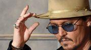 """Johnny Depp na planie piątej części """"Piratów z Karaibów"""""""