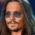 Johnny Depp nie widzi na jedno oko