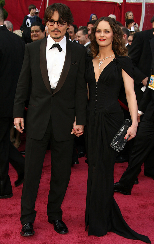 Johnny Depp, Vanessa Paradis /Frazer Harrison /Getty Images/Flash Press Media