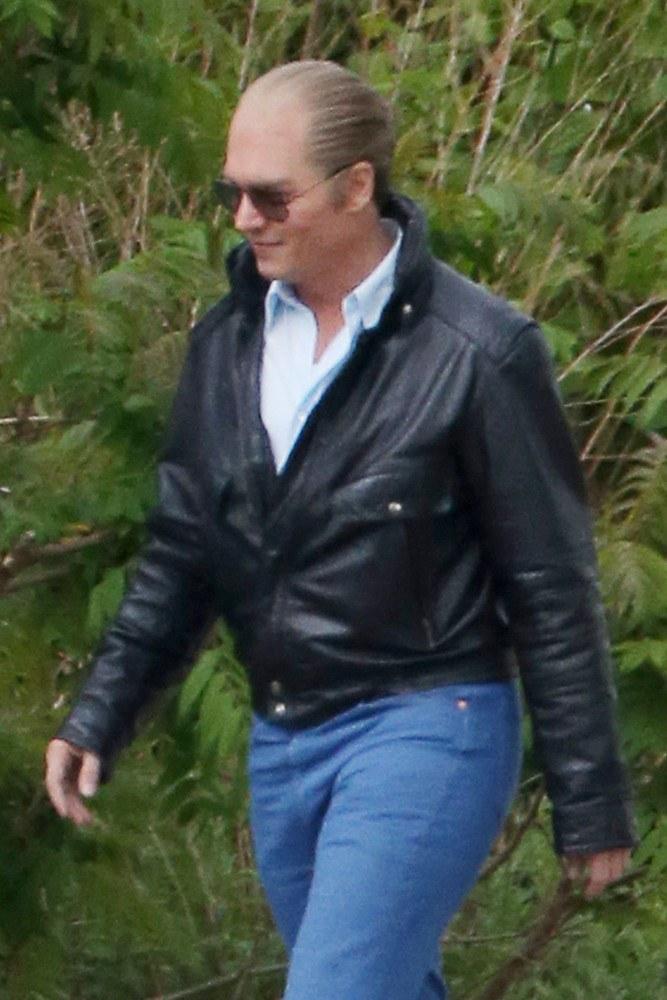 "Johnny Depp w filmie ""Black Mass"" gra gangstera /PacificCoastNews/EAST NEWS /East News"