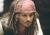 """Johnny Depp w filmie """"Piraci z Karaibów: Klątwa Czarnej Perły"""" /"""