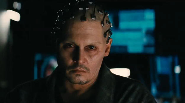 "Johnny Depp w filmie ""Transcendencja"". /materiały dystrybutora"