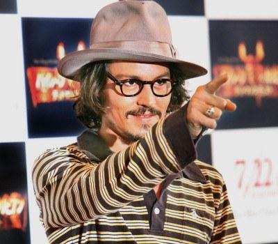 Johnny Depp /AFP