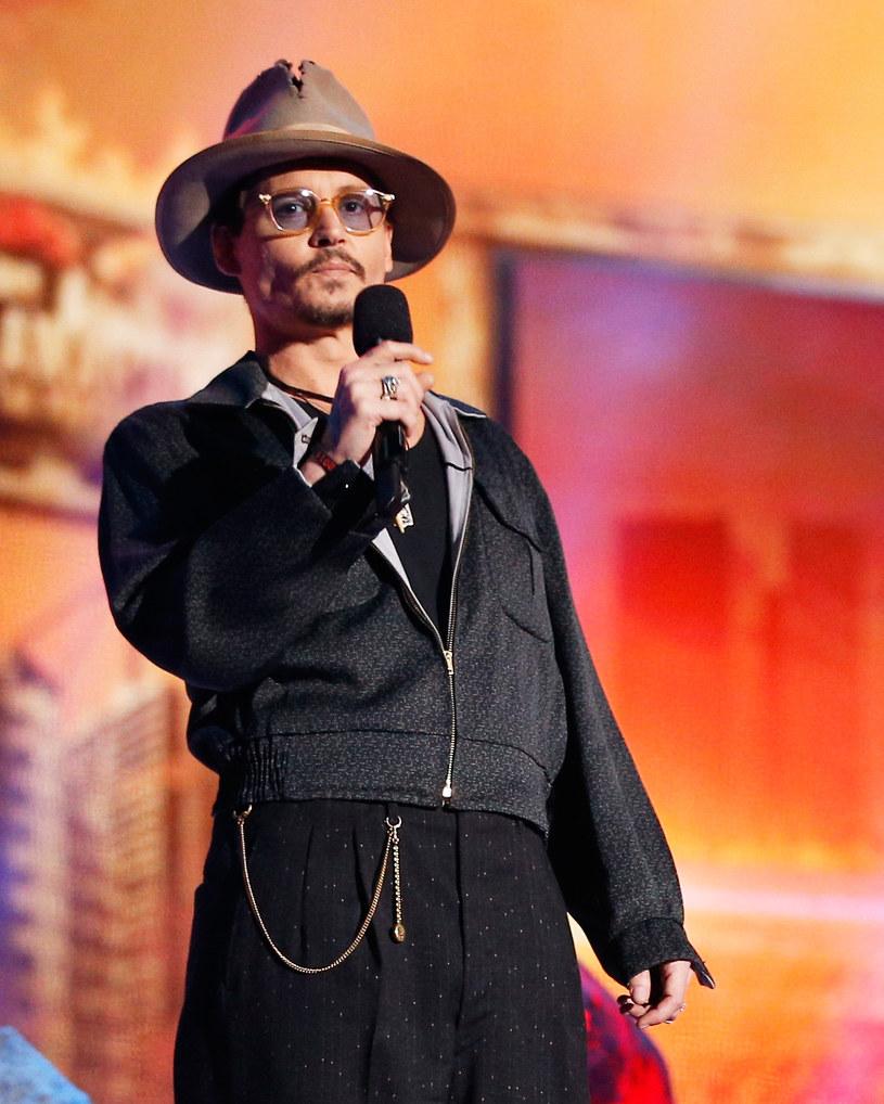 Johnny Depp /Christopher Polk /Getty Images