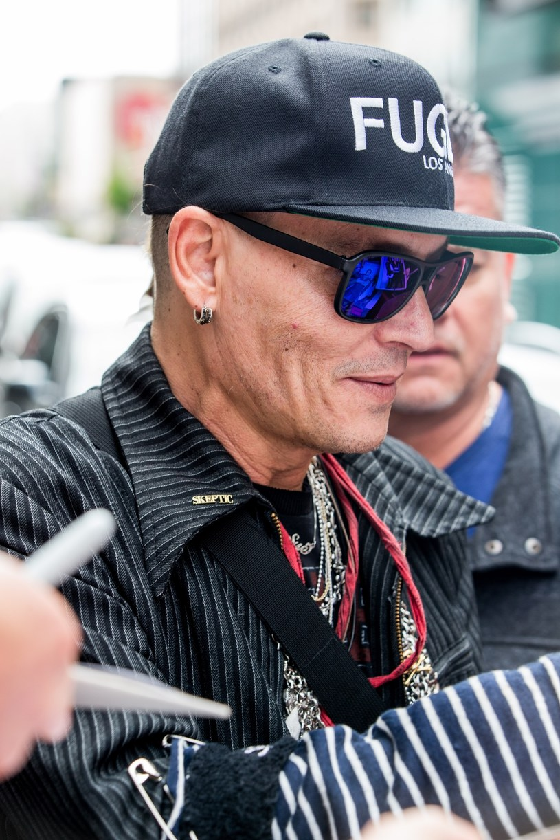 Johnny Depp /Splash News /East News