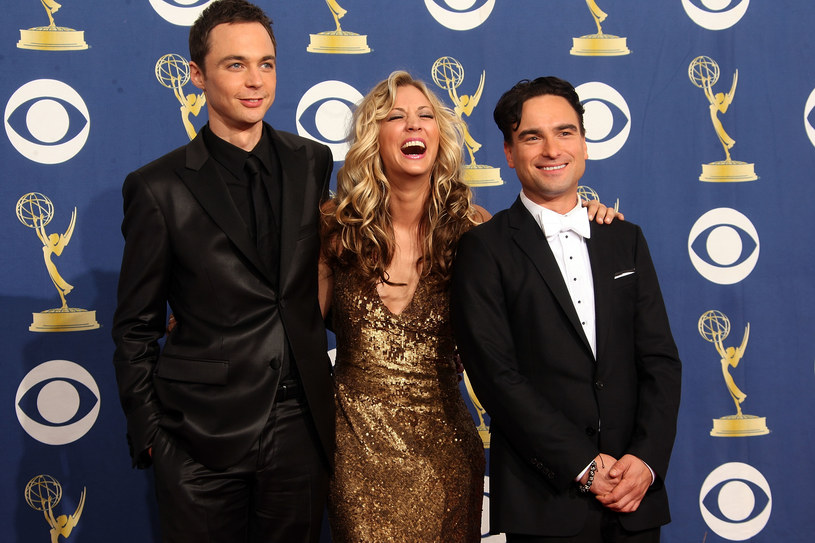 Johnny Galecki, Kaley Cuoco i Jim Parsons /Jason Merritt /Getty Images